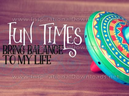 Balance To My Life by Positive Affirmations (Inspirational Graphic Quote by Inspirational Downloads)