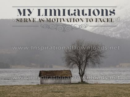 Motivation To Excel by Positive Affirmations (Inspirational Graphic Quote by Inspirational Downloads)