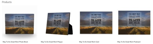 Way To Do Great Work (Inspirational Downloads Customized Products)