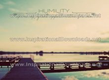 HUMILITY Opens Up Great Opportunities by Positive Affirmations (Inspirational Graphic Quote by Inspirational Downloads)