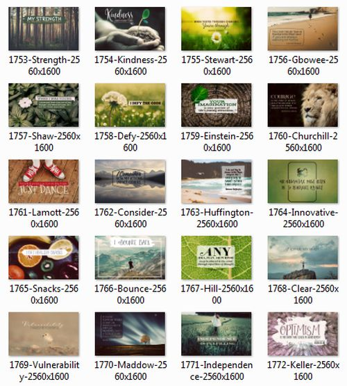 1707 Series Inspirational Quotes Posters (Inspirational Downloads)