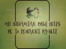 Innovative Mind by Positive Affirmations (Inspirational Graphic Quote by Inspirational Downloads)