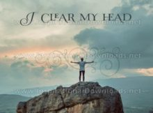 Clear My Head by Positive Affirmations (Inspirational Graphic Quote by Inspirational Downloads)