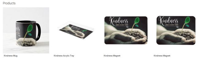 Kindness (Inspirational Downloads Customized Products)