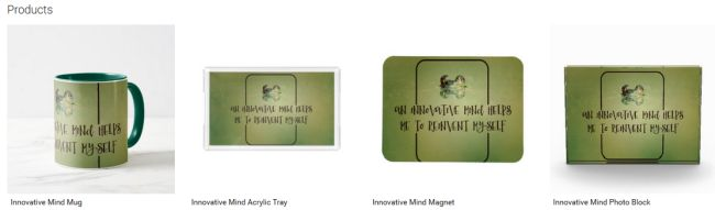 Innovative Mind (Inspirational Downloads Customized Products)