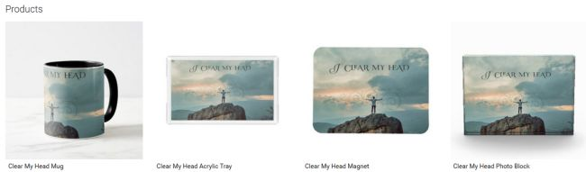 Clear My Head (Inspirational Downloads Customized Products)