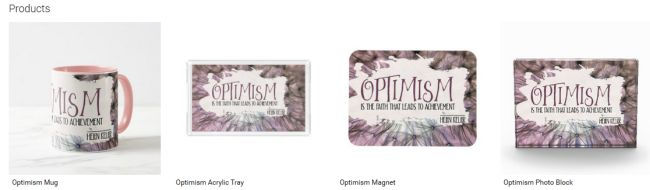 Optimism (Inspirational Downloads Customized Products)