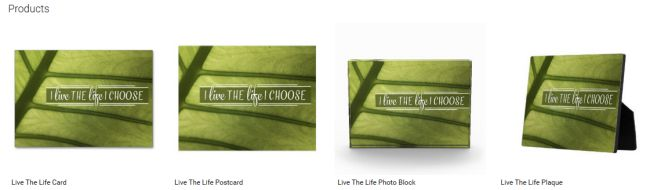 Live The Life (Inspirational Downloads Customized Products)