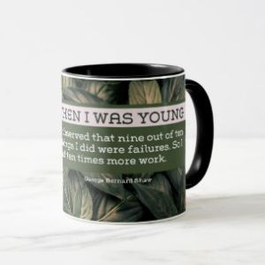 Customized Mug - Ten Times More Work