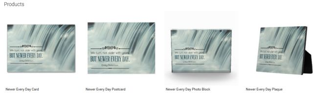 Newer Every Day (Inspirational Downloads Customized Products)