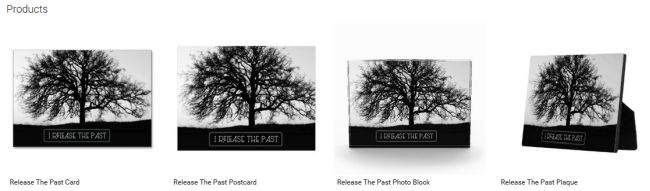 Release The Past (Inspirational Downloads Customized Products)