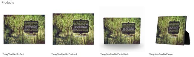 Thing You Can Do (Inspirational Downloads Customized Products)