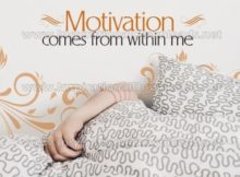 Motivation Comes Within Me by Inspirational Downloads (Inspirational Graphic Quote by Inspirational Downloads)