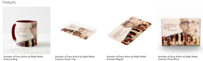Ancestor of Every Action (Inspirational Downloads Customized Products)