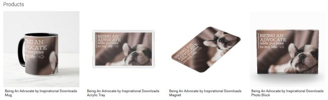 Being An Advocate Inspirational Downloads Customized Products