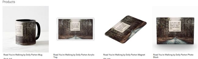 Road You're Walking Inspirational Downloads Customized Products