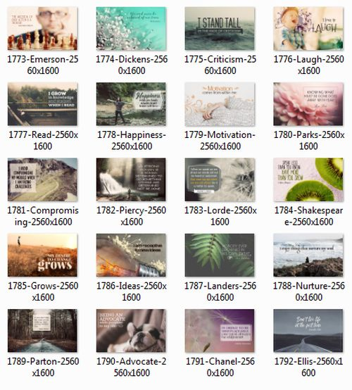 1708 Series Inspirational Quotes Posters (Inspirational Downloads)