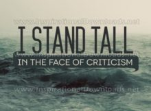 Stand Tall by Inspirational Downloads (Inspirational Graphic Quote by Inspirational Downloads)