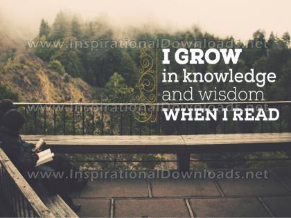 When I Read by Inspirational Downloads (Inspirational Graphic Quote by Inspirational Downloads)