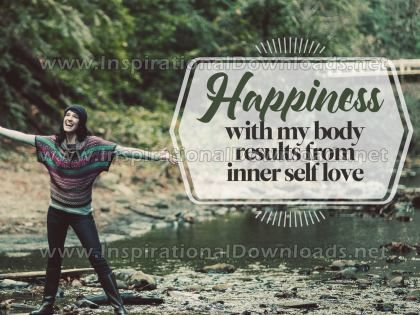 Inner Self Love by Inspirational Downloads (Inspirational Graphic Quote by Inspirational Downloads)
