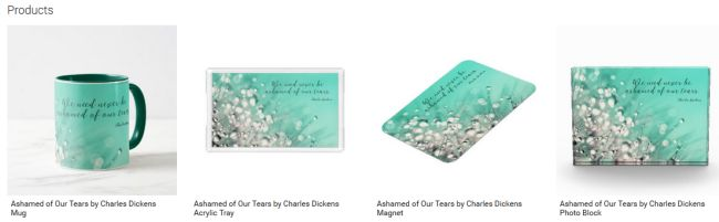 Ashamed of Our Tears (Inspirational Downloads Customized Products)