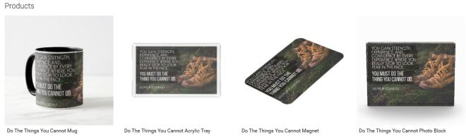Do The Things You Cannot Inspirational Downloads Customized Products