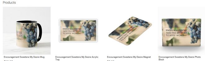 Encouragement Sweetens My Desire Inspirational Downloads Customized Products