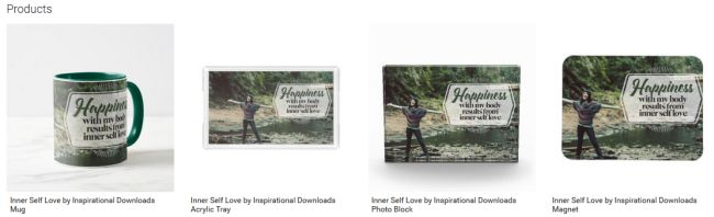Inner Self Love (Inspirational Downloads Customized Products)