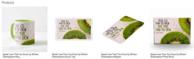 Speak Less Than You Know Inspirational Downloads Customized Products