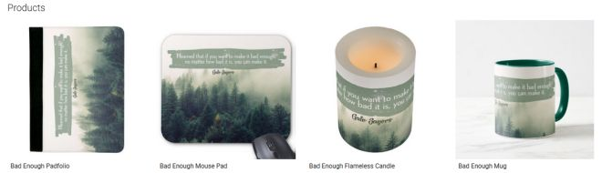 Bad Enough Inspirational Downloads Customized Products