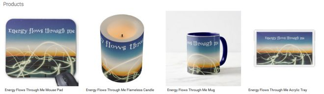 Energy Flows Through Me Inspirational Downloads Customized Products
