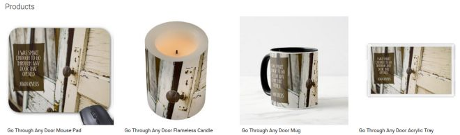 Go Through Any Door Inspirational Downloads Customized Products