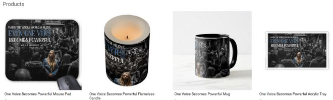 One Voice Becomes Powerful Inspirational Downloads Customized Products