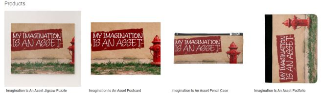 Imagination Is An Asset Inspirational Downloads Customized Products