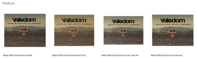 Make Difficult Decisions Inspirational Downloads Customized Products