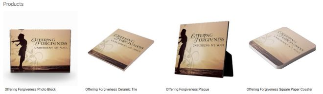 Offering Forgiveness Inspirational Downloads Customized Products