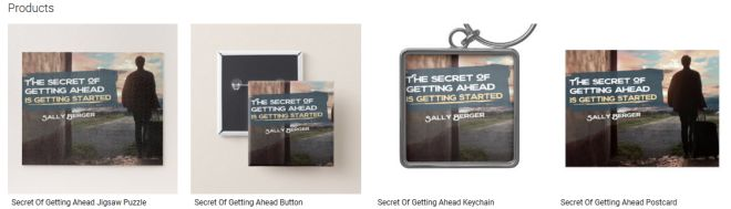 Secret Of Getting Ahead Inspirational Downloads Customized Products