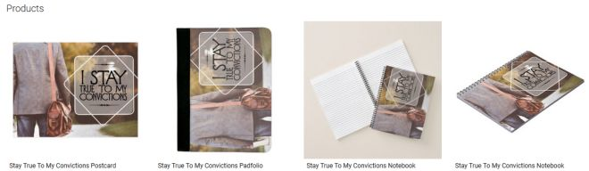 Stay True To My Convictions Inspirational Downloads Customized Products