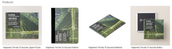 Happiness The Key To Success Inspirational Downloads Customized Products
