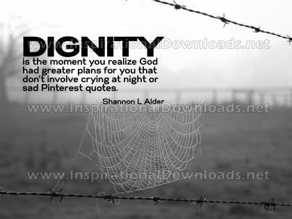 Realize GOD Had Greater Plans by Shannon L. Alder Inspirational Graphic Quote