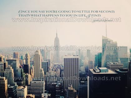 What Happens To You In Life by John F. Kennedy Inspirational Graphic Quote