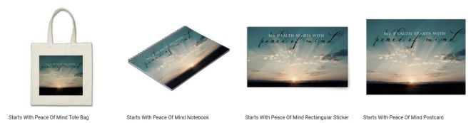 Starts With Peace Of Mind Inspirational Graphic Quote Inspirational Downloads Customized Products