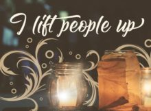 Lift People Up by Inspiring Thoughts Inspirational Quote Graphic