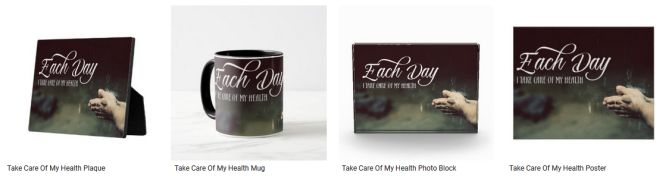 [Take Care Of My Health] Inspirational Quote Graphic Customized Products