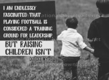 Training Ground For Leadership Inspirational Quote Graphic by Dee Myers