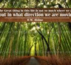 Great Thing In This Life Inspirational Quote Graphic by O.W. Home