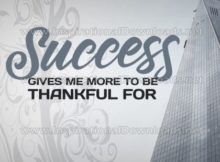 To Be Thankful For Inspirational Quote Graphic by Inspiring Thoughts