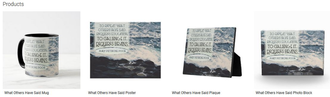 What Others Have Said Inspirational Quote Graphic Customized Products
