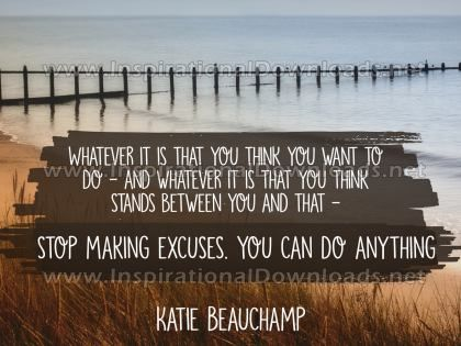 You Can Do Anything Inspirational Quote Graphic