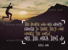 Can Change The World Inspirational Quote Graphic